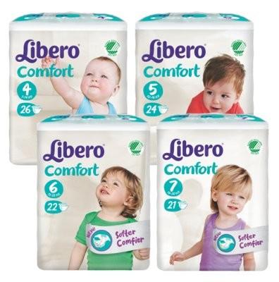 Kinderwindel Libero Comfort in versch. Größen