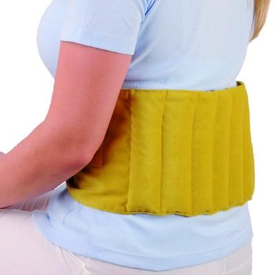 KRYOTHERM Rücken-Wärmegürtel in gelb oder schwarz