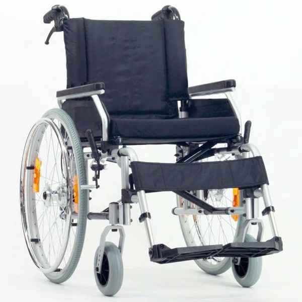 Leichtgewicht-Rollstuhl 2.920 MOLY ECONOMY, mit Trommelbremse