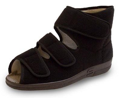Reha Schuh hoch Z1 mit 3 Klettverschlüssen