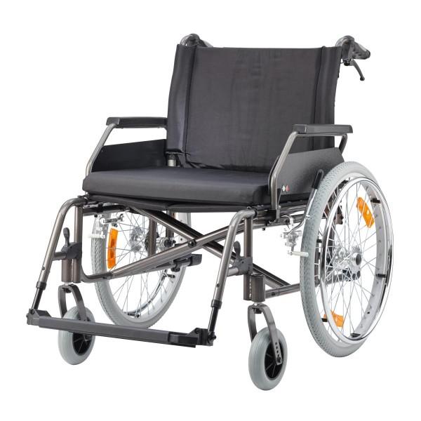 Rollstuhl ECON XXL, mit Trommelbremse