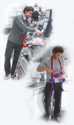 SP-Krückenband,Halteband für Unterarmgehstützen versch. Farben
