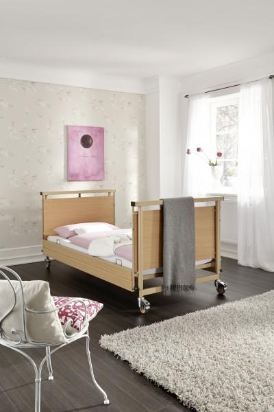 Pflegebett Allura II, 90 x 200 cm oder 100 x 200 cm
