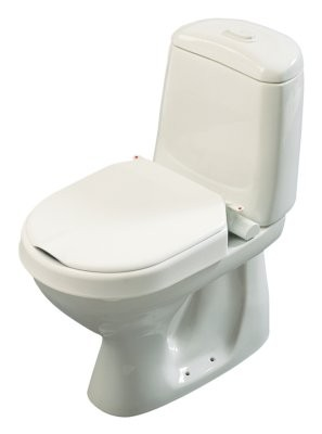 Hi-Loo Toilettensitzerhöhung fest,m.Deckel,6cm(Etac)