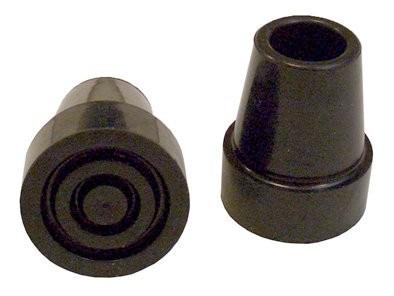 Gummipuffer für Vierfuß- Gehhilfe,18mm schwarz(Dietz)