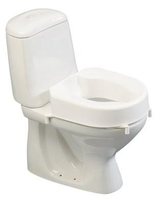 Hi-Loo Toilettensitzerhöhung m.Klammern,o.Deckel,10cm