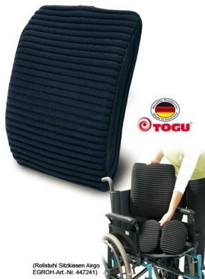 Airgo-Rollstuhl Rückenkissen (TOGU)