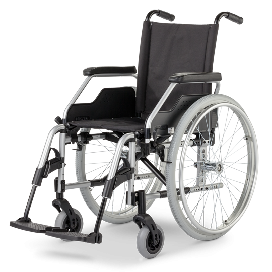 Rollstuhl EUROCHAIR2 2.750, mit Trommelbremse