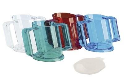 Trinkbecher HANDYCUP m.Tee- Aufsatz in versch. Farben