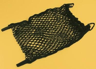 Rollstuhl-Einkaufsnetz,m.Gummizug und Klettverschl.,schwarz