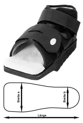 Vorfußentlastungsschuh OrthoWedge ST Light
