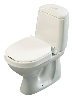 Hi-Loo Toilettensitzerhöhung fest,m.Deckel,10cm(Etac)